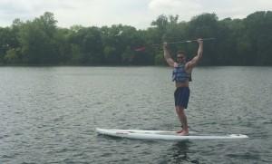 Pat on Lake Austin